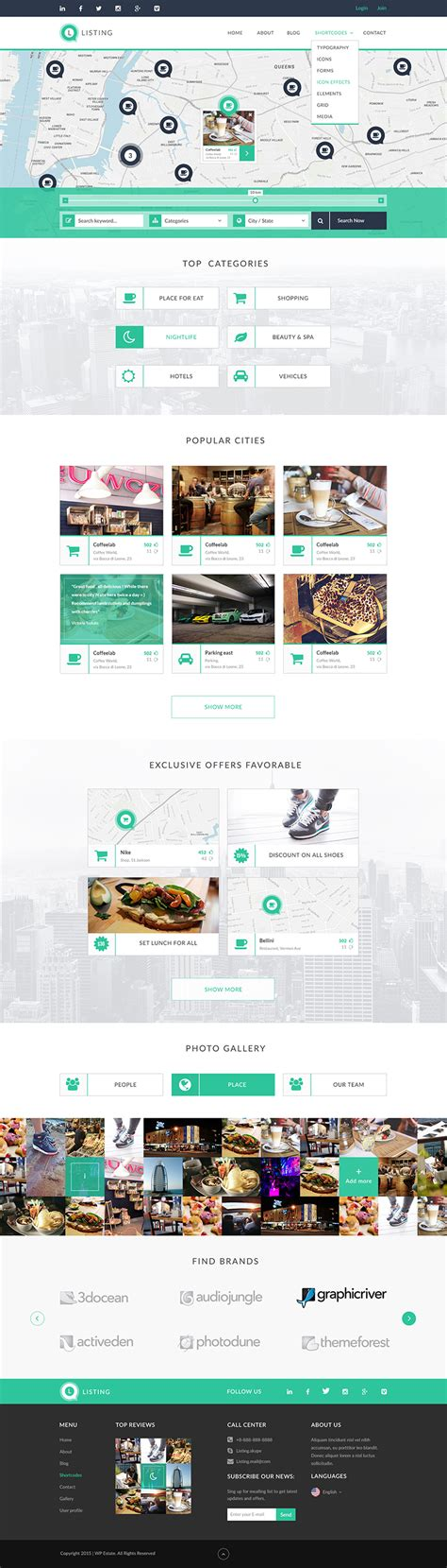 4 Php Directory Templates Free Premium Templates Listing Website Template