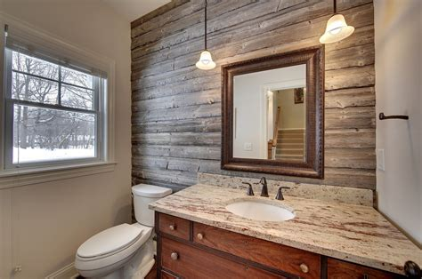 powder room accent wall ideas sublime barnwood furniture decorating ideas for powder
