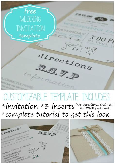 wedding invitation insert templates free wedding invitation template with inserts weddi on