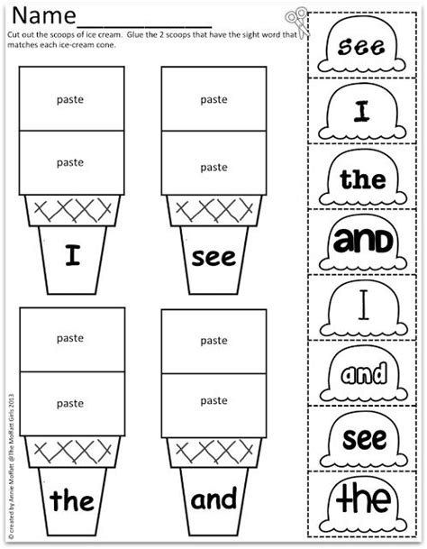 Sight Word Worksheets For Kindergarten by Best 25 Sight Word Worksheets Ideas On Sight