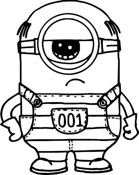 despicable me printable coloring pages download despicable me 3 minion coloring page wecoloringpage