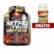 Promo Nitrotech Whey Gold 6lbs suplementos desportivos alimentares loja corposflex