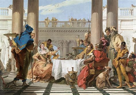 best art biography films the banquet of cleopatra giambattista tiepolo ngv