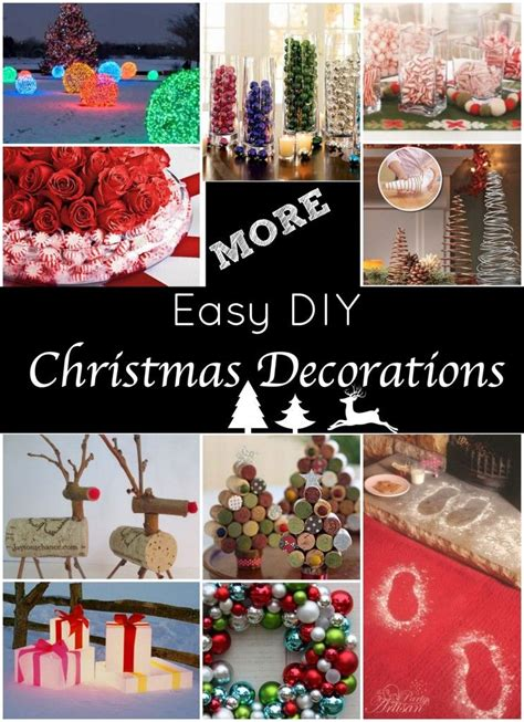 great christmas decorations to make more easy decorations great decorations that almost anyone can make want