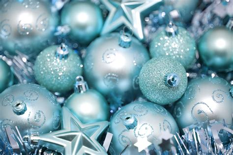 cyan blue bauble background cyan blue bauble background