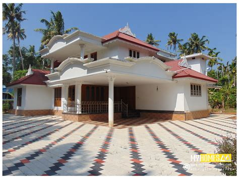traditional style home design kerala
