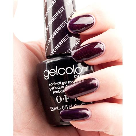 Opi Gel by Opi Gelcolor Every Month Is Oktoberfest Opi From