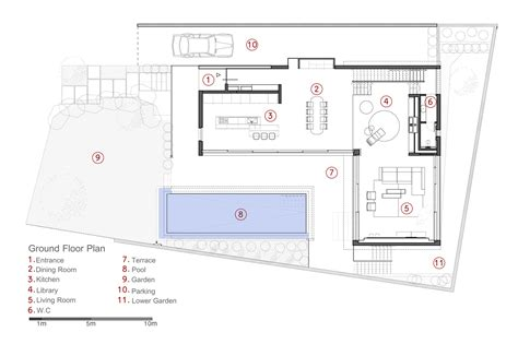 House Plans Two Master Suites Mediterranean Villa Paz Gersh Architects Archdaily