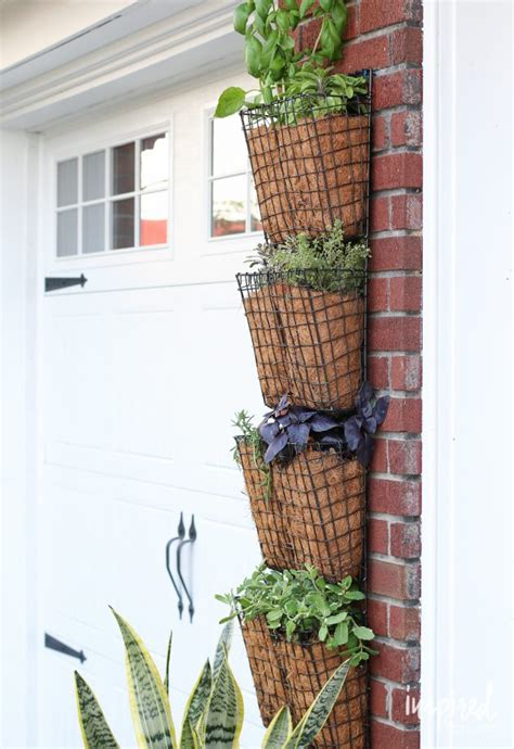 Vertical Garden Companies How To Create Your Own Vertical Herb Garden