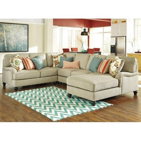 benchcraft kerridon 4 sectional with arms