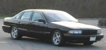 Chevrolet Caprice Ss Coal 1995 Chevrolet Caprice 9c1 Corvette Power