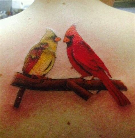 my cardinals for my grandparents ink