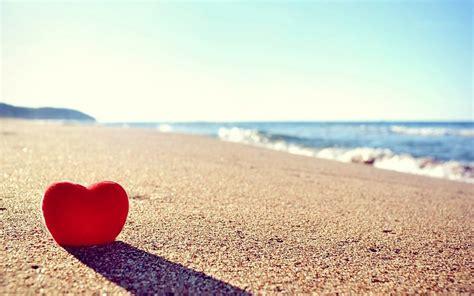 imagenes de corazones en la playa coraz 243 n del amor en el fondo playa hd photo fondos de