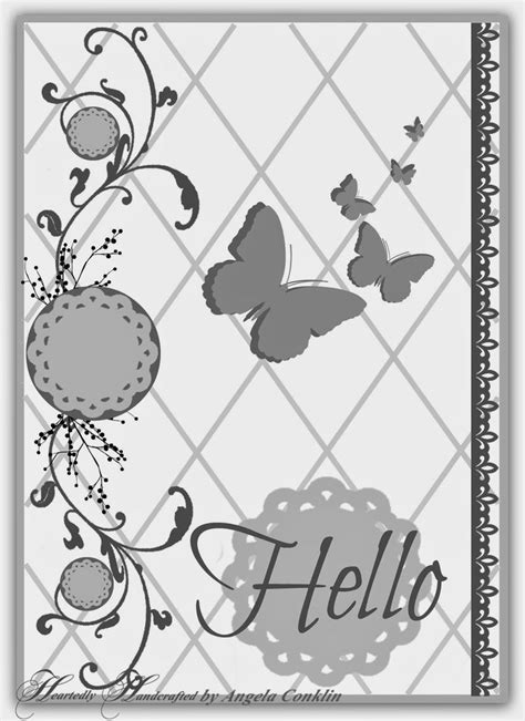card sketches pin by heartedly handcrafted on crafts handmade cards
