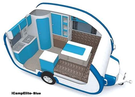 Small Travel Trailers Ultralight Icamp Elite Small Travel Small Travel Trailers With Bathroom
