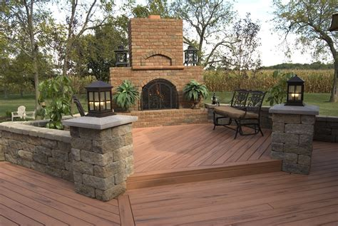 backyard wood patio outdoor deck pictures