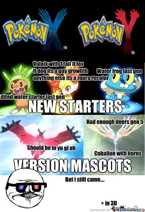 Pokemon Game Memes - rmx new 3ds pokemon game by awesome721 meme center