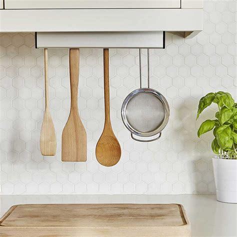 Umbra Under Cabinet Utensil Holder In Kitchen Utensil Holders Kitchen Utensils Storage Cabinet