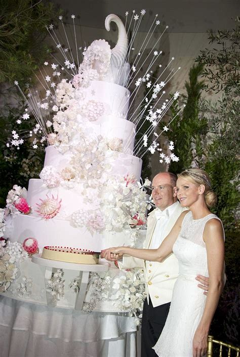 hochzeitstorte prinzessin monaco royal wedding world s cake for princess