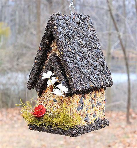 how to make edible birdhouses backyard garden lover