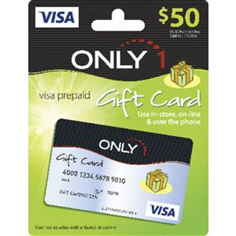 Visa Gift Card Recharge - only 1 visa gift card 50 officeworks