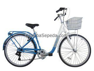 Sepeda Keranjang Wanita United sepeda keranjang polygon arsip serbasepeda