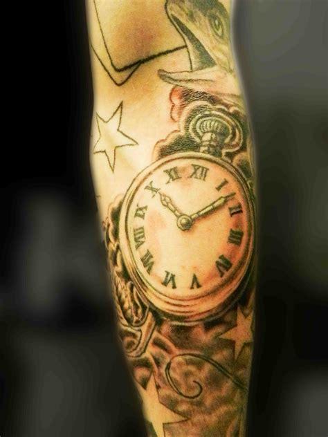tattoo clock clock tattoos