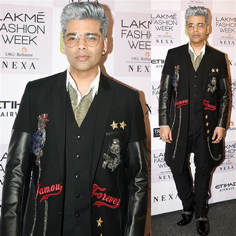 Yay Or Nay Wednesday Catwalk 11 by Yay Or Nay Karan Johar Flaunts A Funky Grey Hairdo At Lfw