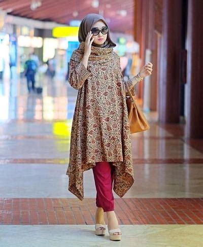 padu padan hijab  batik   hits