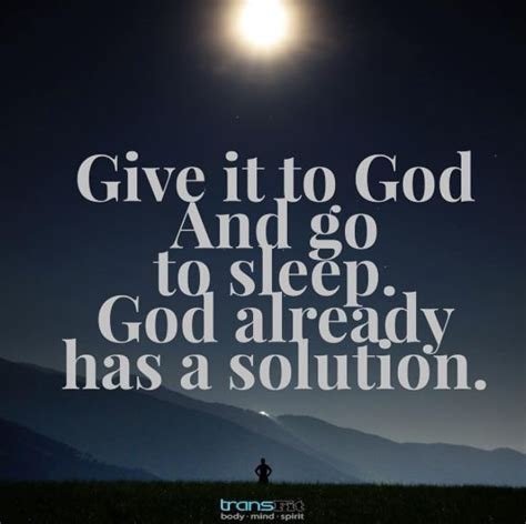 rest well god s gift for a s sleep a 90 day s devotional books give it to god and go to sleep god already has a solution
