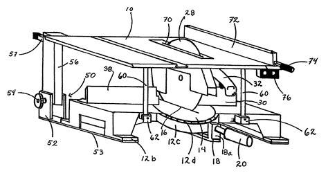 circular saw or table patent us7752951 convertible circular saw apparatus