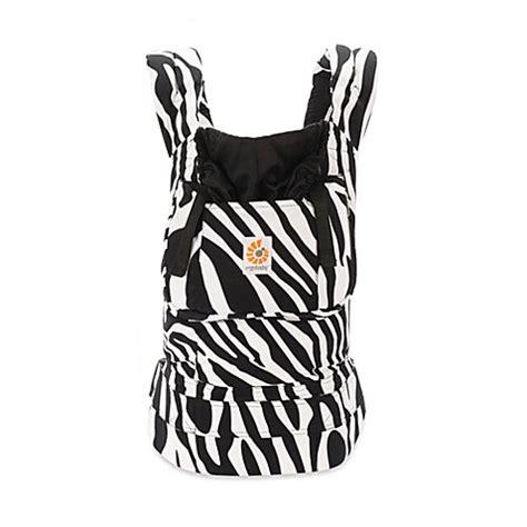 Gendongan Ergo Baby Zebra ergobaby original collection baby carrier in zebra buybuy baby