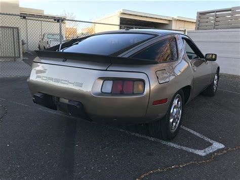 porsche 928 scarface 1981 porsche 928 risky business scarface 1 owner
