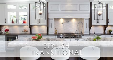 Stylish Transitional Home Kitchen San Diego Interior Designers