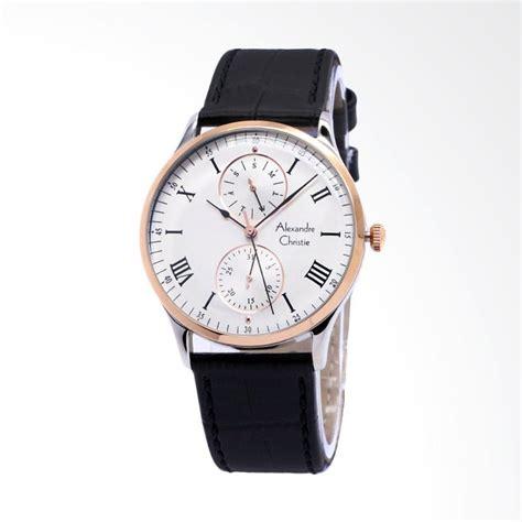 Alexandre Christie 6224 Hitam Rosegold Pria jual alexandre christie 6437 multifunction jam tangan pria putih rosegold hitam harga