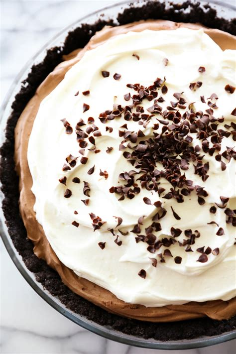 Rte Chococrust Oreo no bake chocolate mousse pie chef in