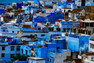 blue city in morocco the blue city of morocco middle east revised