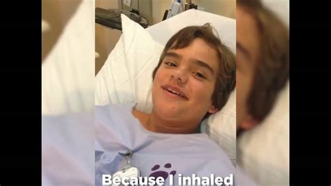 boy swallows a sounds like wheezy from story