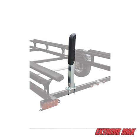 extreme max boat trailer guides extreme max 3005 3783 heavy duty pontoon trailer guide ons