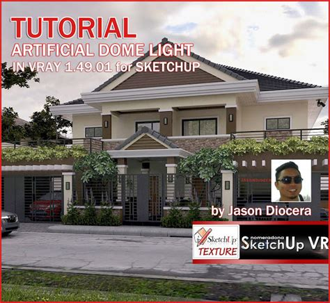 tutorial vray 1 49 sketchup pdf sketchup texture tutorial artificial dome light in vray 1 49