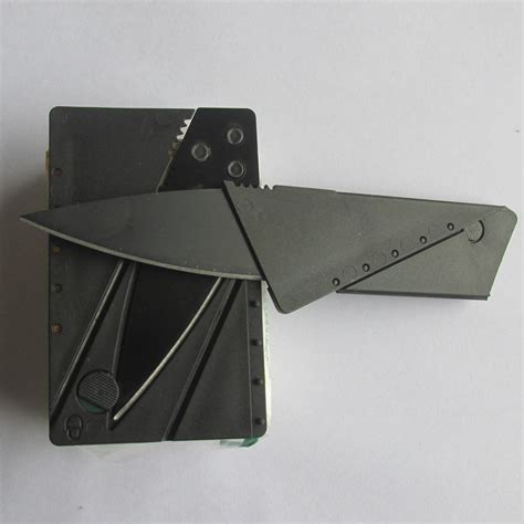 wallet tool card card knife folding knife credit card tool mini wallet