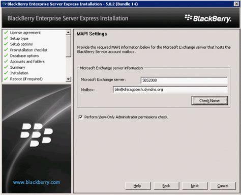 reset blackberry enterprise server password how to install blackberry enterprise server express part 2