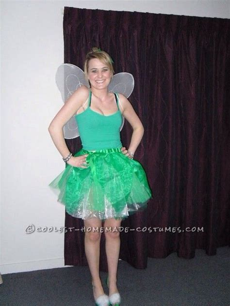 Handmade Tinkerbell Costume - feisty tinkerbell costume
