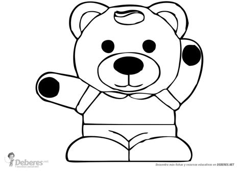 imagenes para pintar oso oso para pintar