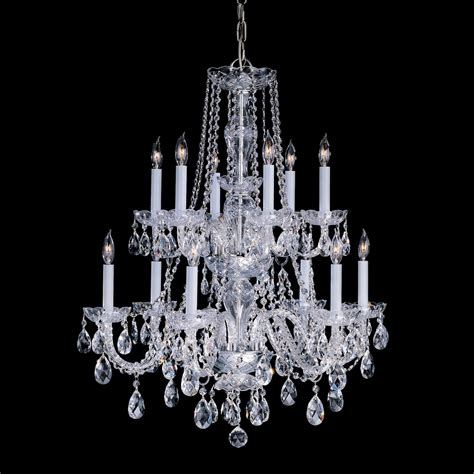 Lighting Chandeliers Traditional Crystorama Lighting 1137 12 Light Traditional Chandelier Atg Stores