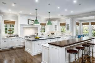 kitchen with 2 islands beautiful white kitchens house of hargrove