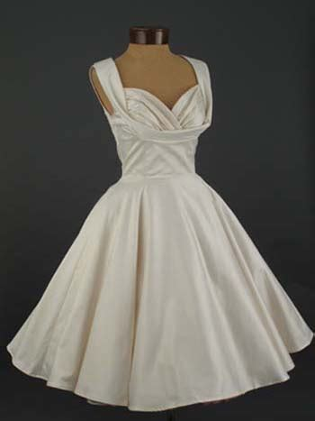 50 s style wedding dresses plus size trashy diva 50 s style antique white informal wedding