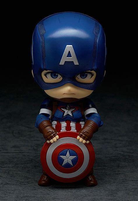 Captain America 02 boneco nendoroid capit 227 o am 233 rica vingadores 2 era de
