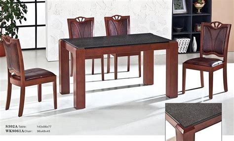 Granite Dining Table Set | china granite dining table set s302atable wk8061achair