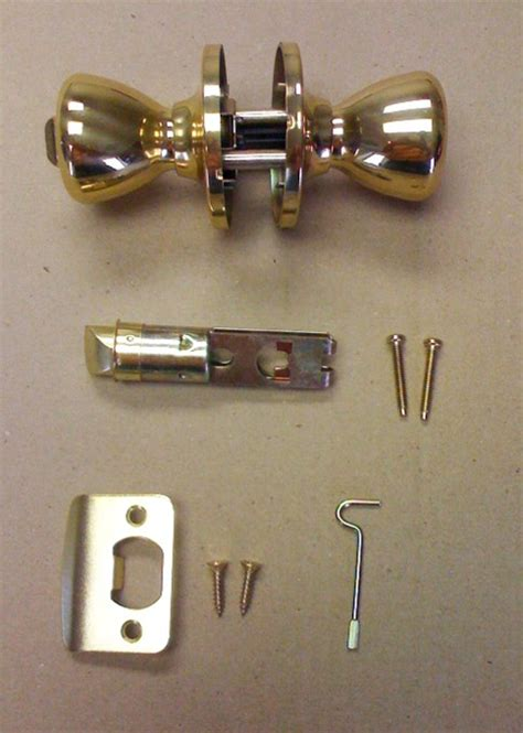 brass privacy door lock set for mobile home manufactured